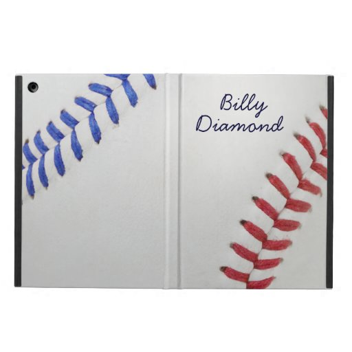 Baseball Fan-tastic_Color Laces_All-American iPad Case