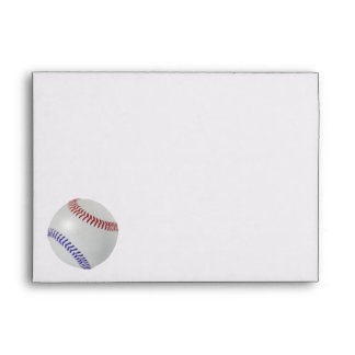 Baseball Fan-tastic_Color Laces_All-American Party Envelope