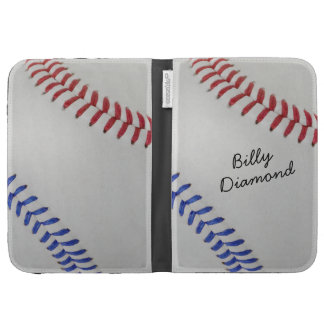Baseball Fan-tastic_Color Laces_autograph style 1 Kindle Keyboard Cases