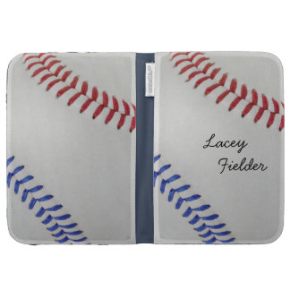 Baseball Fan-tastic_Color Laces_autograph style 2 Case For Kindle