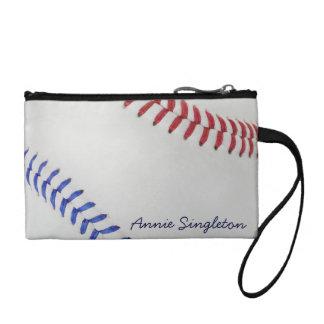 Baseball Fan-tastic_Color Laces_Autograph Style Coin Purse