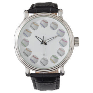 Baseball Fan-tastic_Color Laces_Circle of Balls Wristwatches