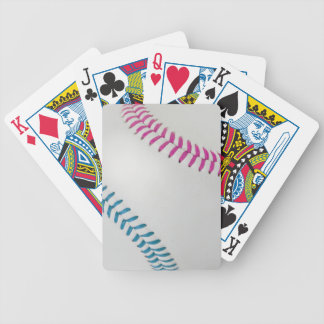 Baseball Fan-tastic_Color Laces_fu_tl Bicycle Playing Cards