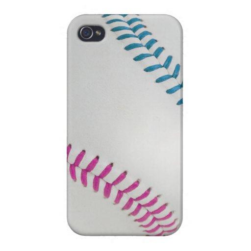 Baseball Fan-tastic_Color Laces_fu_tl iPhone 4/4S Cases