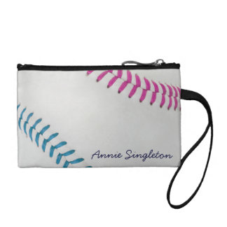 Baseball Fan-tastic_Color Laces_fu_tl_personalized Coin Wallet