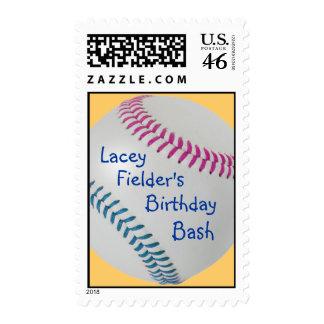 Baseball Fan-tastic_Color Laces_fu_tl_personalized Postage