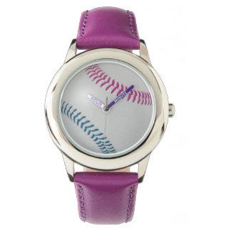 Baseball Fan-tastic_Color Laces_fu_tl Watch