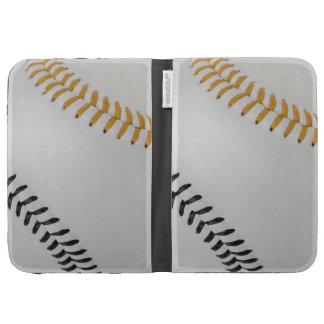 Baseball Fan-tastic_Color Laces_go_bk Kindle Case