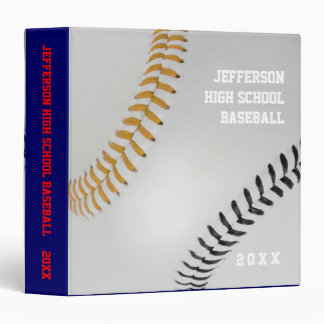 Baseball Fan-tastic_Color Laces_go_bk_personalized Binder