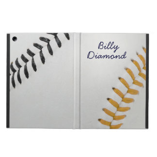 Baseball Fan-tastic_Color Laces_go_bk_personalized Case For iPad Air
