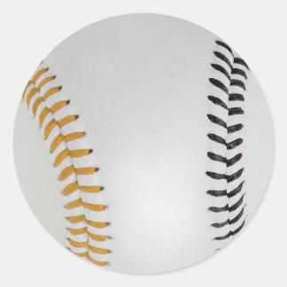 Baseball Fan-tastic_Color Laces_go_bk Sticker