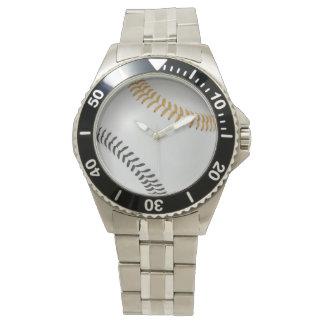 Baseball Fan-tastic_Color Laces_go_bk Wrist Watches