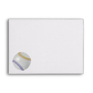 Baseball Fan-tastic_Color Laces_go_bl  Party Envelope