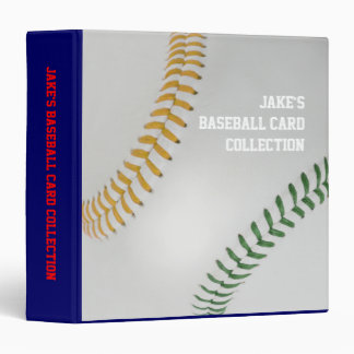 Baseball Fan-tastic_Color Laces_go_gr_personalized Binder