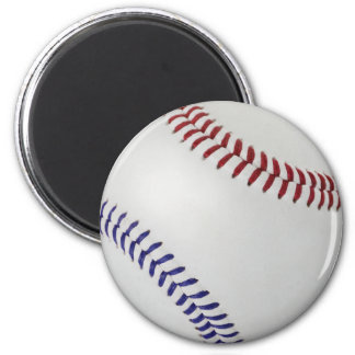Baseball Fan-tastic_Color Laces_nb_dr 2 Inch Round Magnet