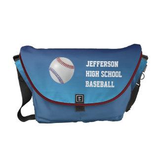 Baseball Fan-tastic_Color Laces_nb_dr Courier Bag