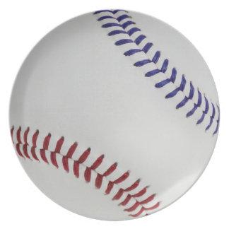 Baseball Fan-tastic_Color Laces_nb_dr Dinner Plate