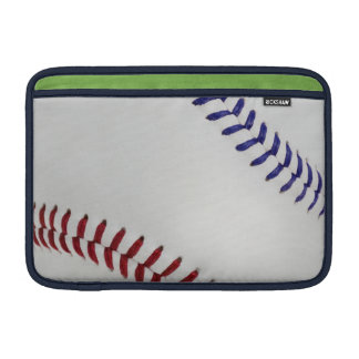 Baseball Fan-tastic_Color Laces_nb_dr Sleeves For MacBook Air