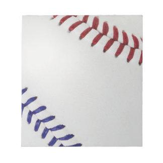 Baseball Fan-tastic_Color Laces_nb_dr Memo Pads