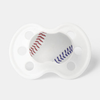 Baseball Fan-tastic_Color Laces_nb_dr Baby Pacifiers