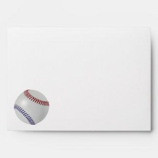 Baseball Fan-tastic_Color Laces_nb_dr Party Envelope
