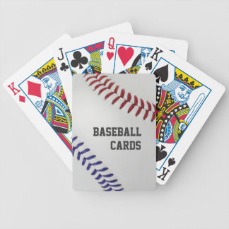 Baseball Fan-tastic_Color Laces_nb_dr_personalized Bicycle Playing Cards