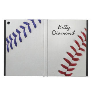 Baseball Fan-tastic_Color Laces_nb_dr_personalized iPad Cover