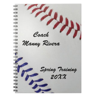 Baseball Fan-tastic_Color Laces_nb_dr_personalized Notebook