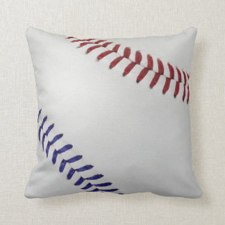 Baseball Fan-tastic_Color Laces_nb_dr Throw Pillows