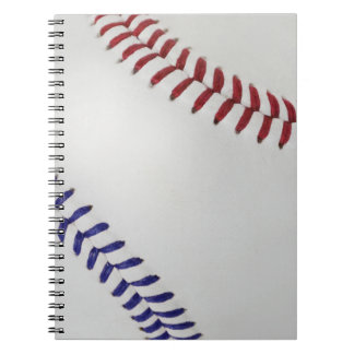 Baseball Fan-tastic_Color Laces_nb_dr Spiral Notebook