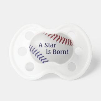 Baseball Fan-tastic_Color Laces_nb_dr_Star is Born Pacifiers