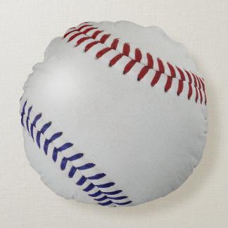 Baseball Fan-tastic_Color Laces_nb_dr_team spirit Round Pillow