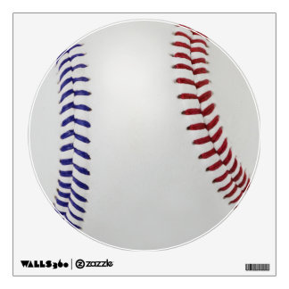 Baseball Fan-tastic_Color Laces_nb_dr Wall Decal