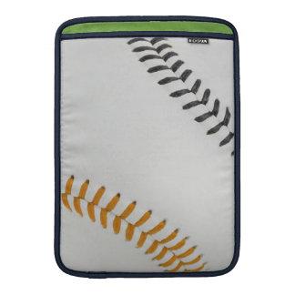 Baseball Fan-tastic_Color Laces_og_bk Sleeves For MacBook Air