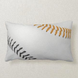 Baseball Fan-tastic_Color Laces_og_bk Throw Pillow