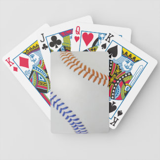 Baseball Fan-tastic_Color Laces_og_bl Bicycle Playing Cards