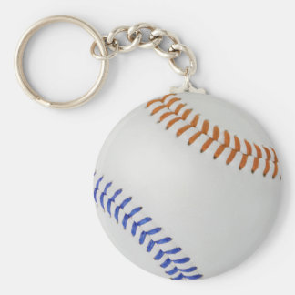 Baseball Fan-tastic_Color Laces_og_bl Basic Round Button Keychain