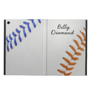 Baseball Fan-tastic_Color Laces_og_bl_personalized Cover For iPad Air
