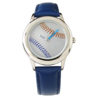 Baseball Fan-tastic_Color Laces_og_bl Wristwatch