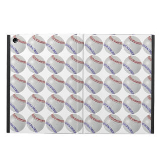 Baseball Fan-tastic_Color Laces_pattern_RD_BL Case For iPad Air