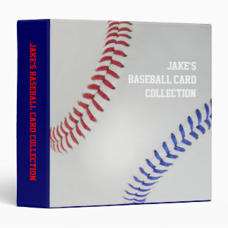 Baseball Fan-tastic_Color Laces_personalized Binder