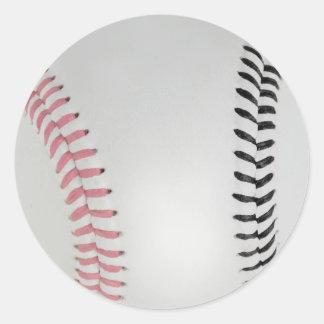Baseball Fan-tastic_Color Laces_pk_bk Sticker