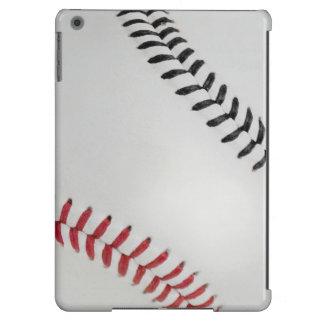 Baseball Fan-tastic_Color Laces_rd_bk iPad Air Covers