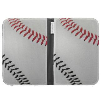 Baseball Fan-tastic_Color Laces_rd_bk Kindle 3 Cover