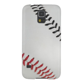 Baseball Fan-tastic_Color Laces_rd_bk Case For Galaxy S5