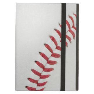 Baseball Fan-tastic_Color Laces_rd_bk iPad Covers