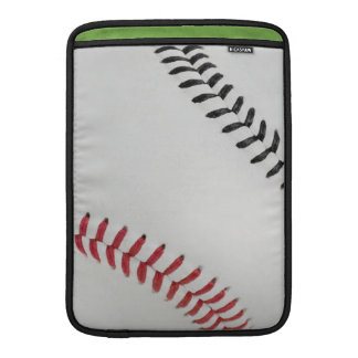 Baseball Fan-tastic_Color Laces_rd_bk Sleeve For MacBook Air