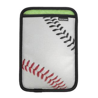 Baseball Fan-tastic_Color Laces_rd_bk Sleeve For iPad Mini