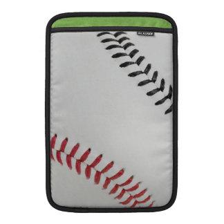 Baseball Fan-tastic_Color Laces_rd_bk MacBook Air Sleeves