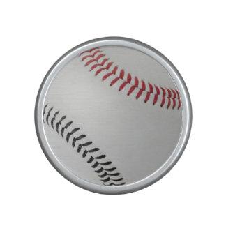 Baseball Fan-tastic_Color Laces_rd_bk Bluetooth Speaker